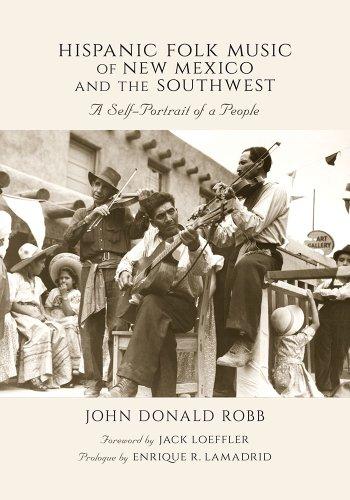 Hispanic Folk Music of New Mexico and the Southwest: A Self-Portrait of a People (Hardback): John ...