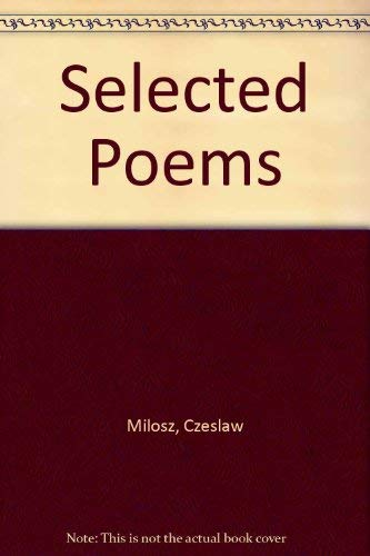 9780826400499: Selected Poems