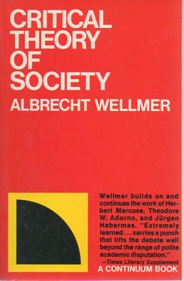 9780826400840: Critical Theory of Society