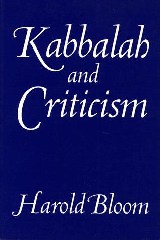 9780826402424: Kabbalah & Criticism (Kabbalah & Criticism Paper)