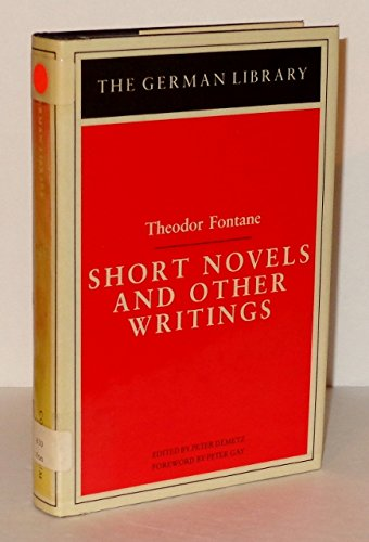 9780826402509: Short Novels and Other Writings: Theodor Fontane (German Library)