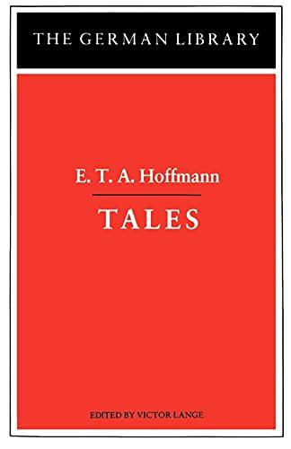 9780826402646: Tales: E.T.A. Hoffmann (German Library)
