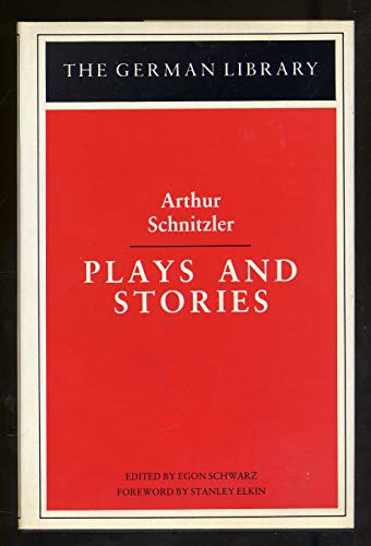 9780826402707: Plays and Stories (German Library)