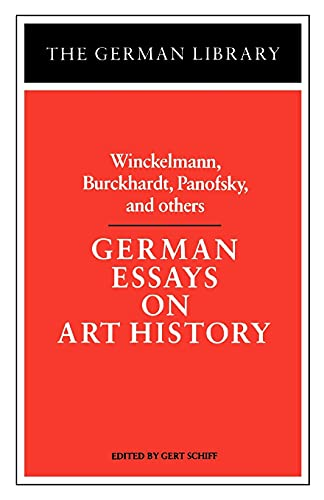 german essays on art history Note: citations are based on reference standards however, formatting rules can vary widely between applications and fields of interest or study the specific requirements or preferences of your reviewing publisher, classroom teacher, institution or organization should be applied.