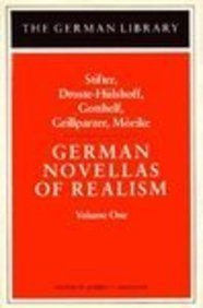 9780826403162: 1: German Novellas of Realism I (German Library) (English and German Edition)