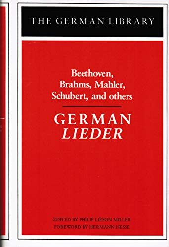 42: German Lieder (German Library) (English and German Edition) (0826403271) by Philip Lieson Miller