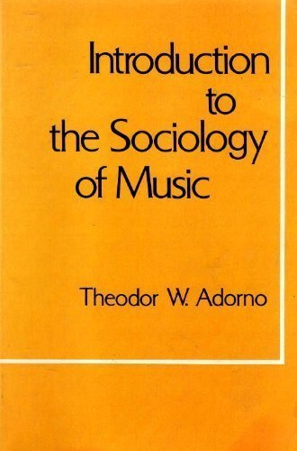 9780826404039: Introduction to the Sociology of Music