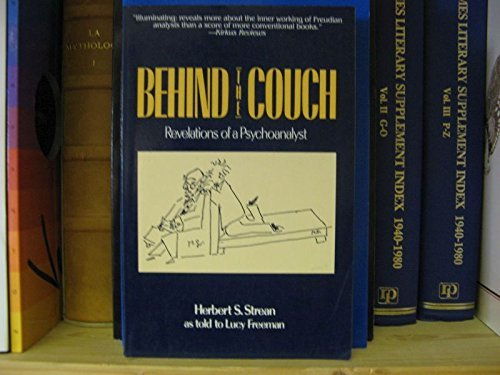 9780826405173: Behind the Couch Revelations of a Psycho