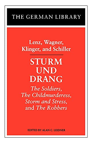 9780826407054: Sturm und Drang
