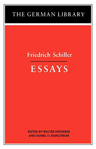 9780826407139: Essays: Friedrich Schiller (The German Library No. 17)