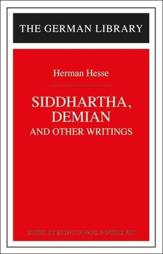 9780826407153: Siddhartha, Demian, and Other Writings: Hermann Hesse (German Library)