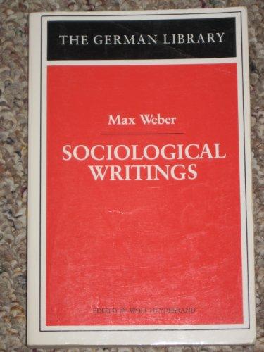 9780826407184: Sociological Writings (German Library)