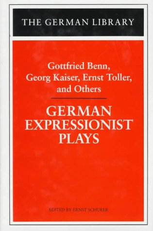 9780826409515: German Expressionist Plays (German Library)