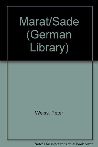 9780826409621: Marat/Sade, the Investigation, and the Shadow of the Coachman (German Library)