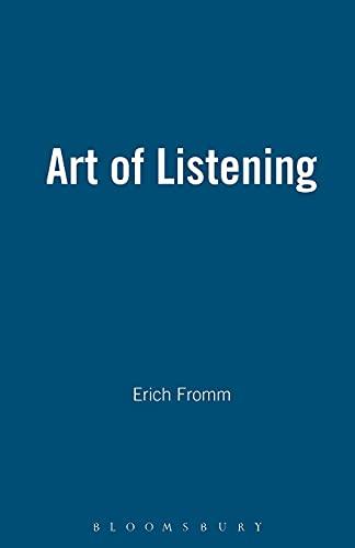 9780826411327: The Art of Listening