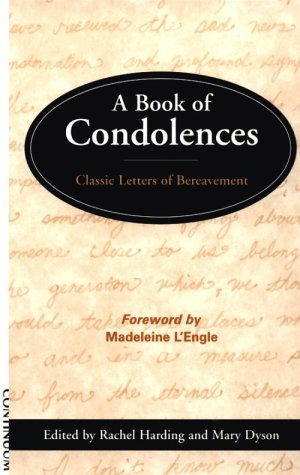 9780826411686: A Book of Condolences: Classic Letters of Bereavement