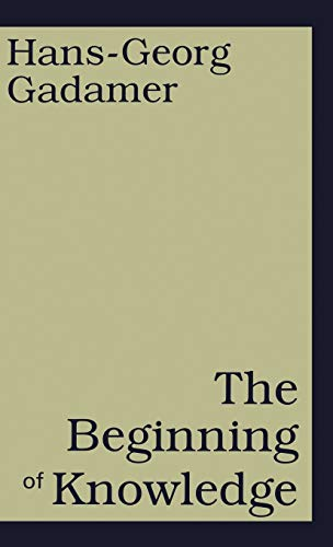 9780826411952: The Beginning of Knowledge