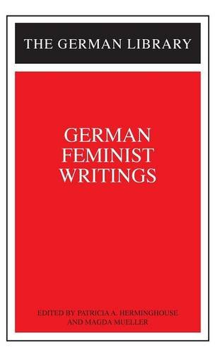 German Feminist Writings: HERMINGHOUSE, PATRICIA A.
