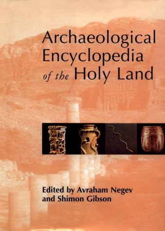 9780826413161: Archaeological Encyclopedia of the Holy Land