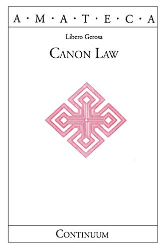 9780826413918: Canon Law (Handbooks of Catholic Theology)