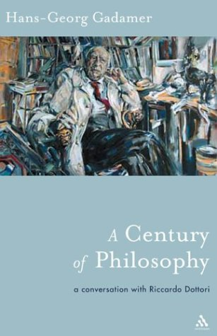 9780826415240: A Century of Philosophy (Athlone Contemporary European Thinkers)