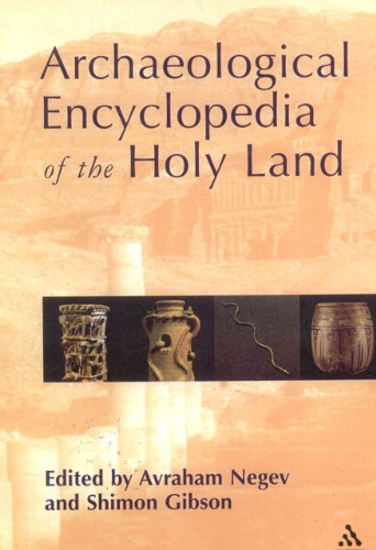 9780826415271: Archaeological Encyclopedia of the Holy Land
