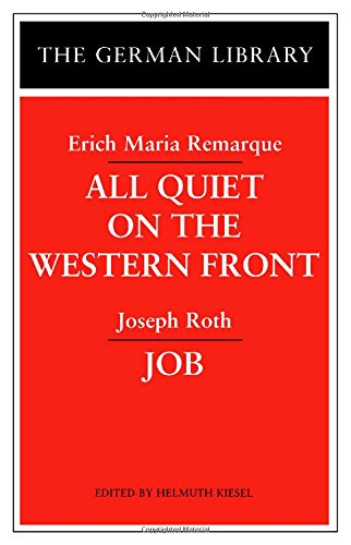 All Quiet On The Western Front /: Remarque, Erich Maria;