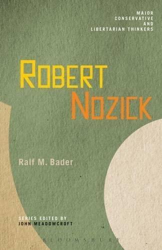 Robert Nozick.: Bader, Ralf M.
