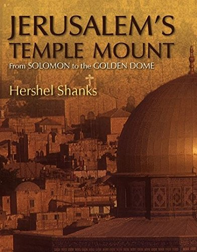 9780826428844: Jerusalem's Temple Mount: From Solomon to the Golden Dome