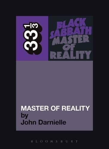 9780826428998: Black Sabbath's Master of Reality (33 1/3)