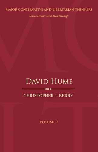 9780826429803: David Hume (Major Conservative and Libertarian Thinkers)