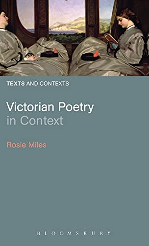 9780826430557: Victorian Poetry in Context (Texts and Contexts)