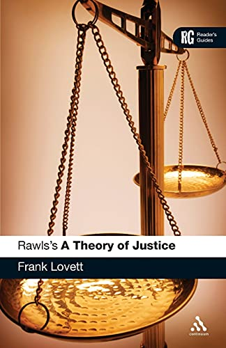 9780826437815: Rawls's 'A Theory of Justice': A Reader's Guide (Reader's Guides)