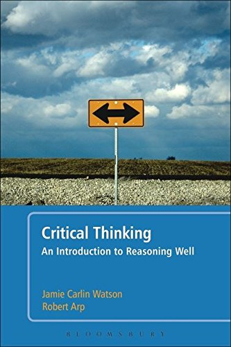 9780826439512: Critical Thinking: An Introduction to Reasoning Well