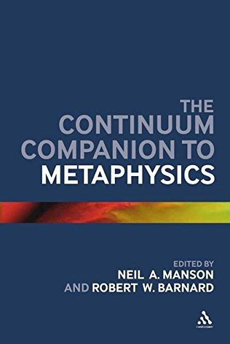 9780826440617: The Continuum Companion to Metaphysics
