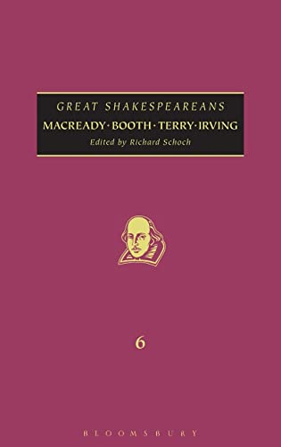9780826442253: Macready, Booth, Terry, Irving: Great Shakespeareans