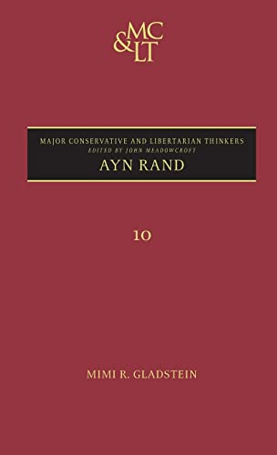 9780826445131: Ayn Rand (Major Conservative and Libertarian Thinkers)