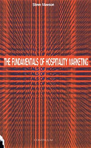9780826448323: FUNDAMENTALS OF HOSPITALITY MARKETING (Tourism & Hospitality)