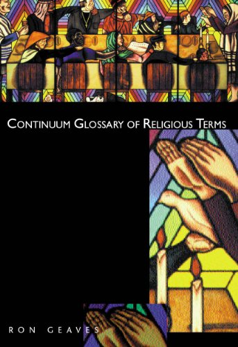 9780826448828: Continuum Glossary of Religious Terms
