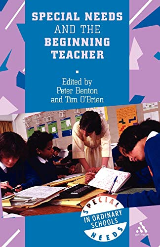 9780826448897: Special Needs and the Beginning Teacher (Special Needs in Ordinary Schools)