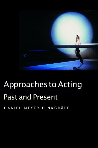 Approaches to Acting: Past and Present: Meyer-Dinkgräfe, Daniel