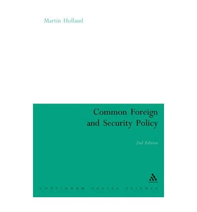 9780826450432: Common Foreign and Security Policy: The First Ten Years