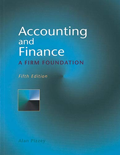 9780826450760: Accounting and Finance: A Firm Foundation