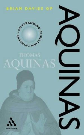 9780826450845: Thomas Aquinas (Outstanding Christian Thinkers)