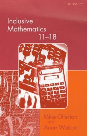 9780826452016: Inclusive Mathematics 11-18 (Special Needs in Ordinary Schools)