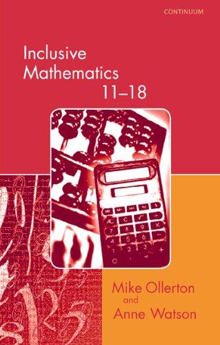 9780826452238: Inclusive Mathematics 11-18 (Special needs in ordinary schools series)