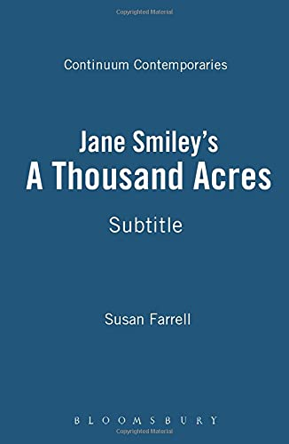 Jane Smiley's 'A Thousand Acres': A Reader's Guide.: Susan Farrell