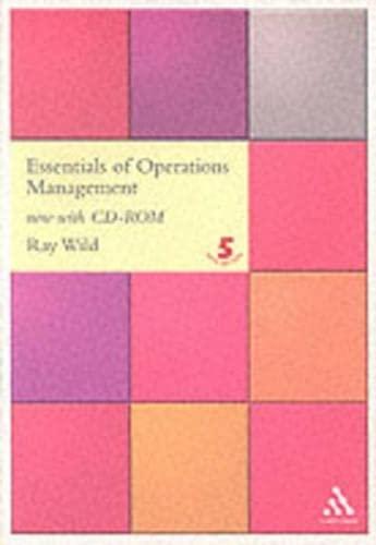 9780826452719: Essentials of Operations Management