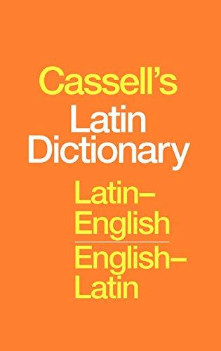 9780826453785: Cassell's Latin-English, English-Latin Standard Dictionary