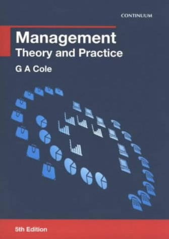9780826453914: Management: Theory and Practice